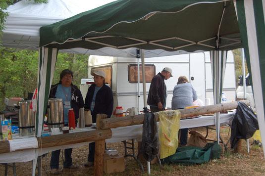 Gonfaron, Nature, Open 2014, la buvette
