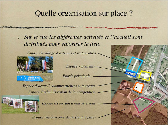 """La Bussière CF nature 2014, le """"village"""""""