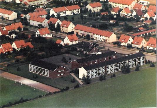 Die Mittelpunktschule Anfang der 70er Jahre