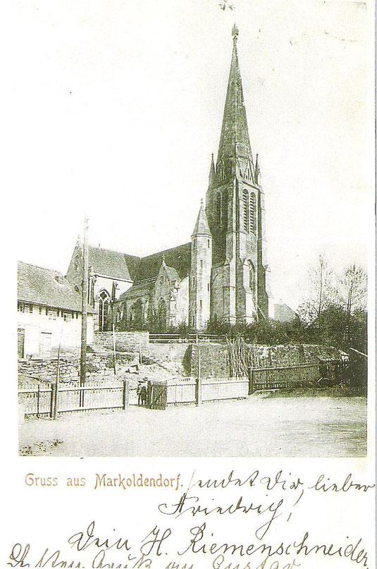 die neue Martinskirche in Oldendorf