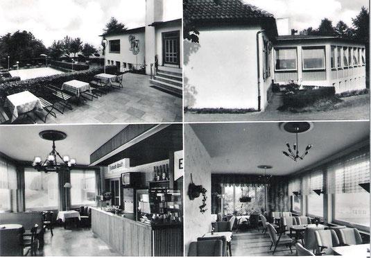 """Gesellschaftshaus """"Cafe Steinberg"""" nach Erweiterung 1956"""