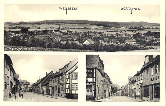 Postkarte von Markoldendorf