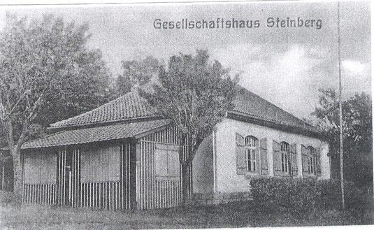 Gesellschaftshaus Steinberg, erbaut 1911