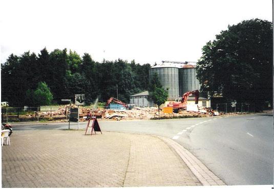 Das war einmal der Bahnhof Markoldendorf, Foto vom 08.07.2005