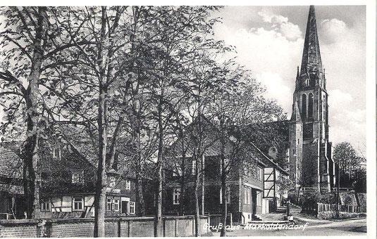 Das Gasthaus Karl Schwertfeger in der Kirchstraße