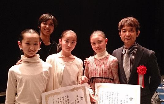 左から 丸山萌さん 鈴木千聖さん 平田あおいさん
