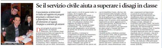 """da """"SPECIALE ANSPI"""", Avvenire 24/10/2013"""