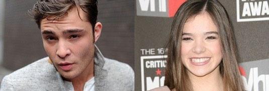 "Ed Westwick rejoint Hailee Steinfeld dans un nouveau ""Romeo & Juliette""."