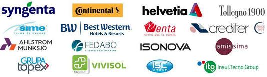 Aziende partecipanti evento di premiazione Sales Excellence Awards