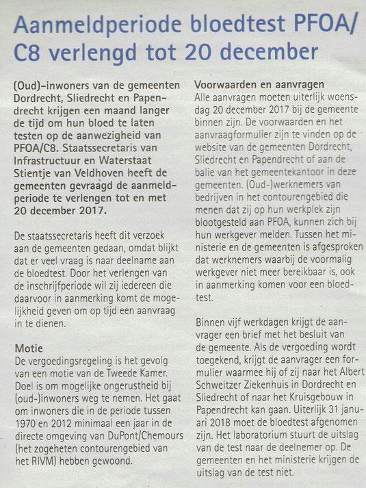 Papendrechts Nieuwsblad 22-11-2017