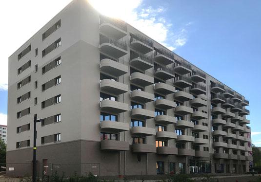 dgk architekten, degewo Wohnungsbau, Bauüberwachung, Berlin, altersgerechtes Wohnen