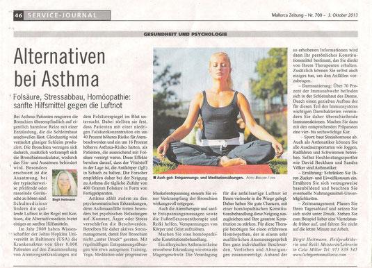Mallorca Zeitung vom 3. Oktober 2013