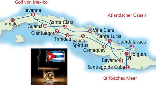 Kasimirs, Cäsars und Fredis Rundreise auf Kuba
