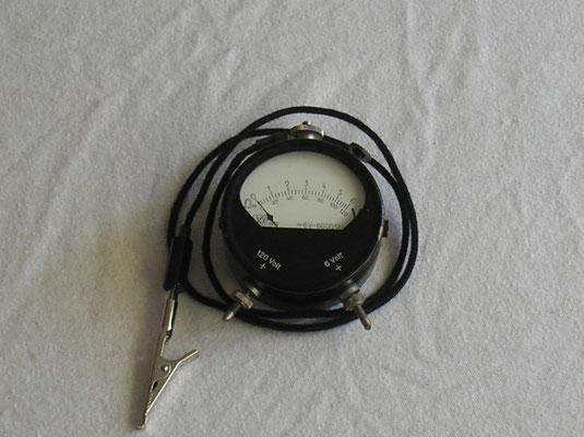 Gebr. Kiesewetter Leipzig  Taschen Voltmeter Gleichstrom