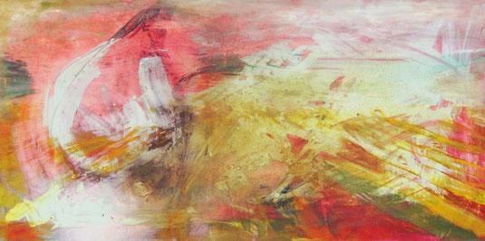 Explosion – Acryl auf Leinwand – 30x80 cm – 2013