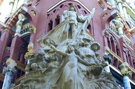 Дворец Каталонской музыки в Барселоне, история, расположение, описание