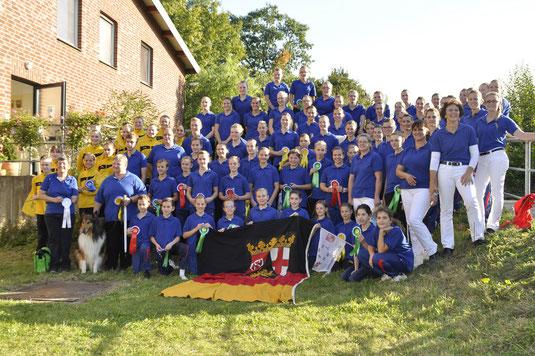 erfolgreiche Rheinland-Pfalz Equipe