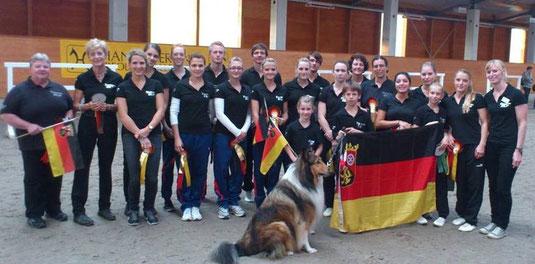 starker Zusammenhalt: Team Rheinland-Pfalz
