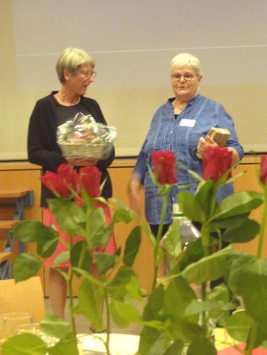 Ruth Wildermith würdigt Michèle Deubelbeiss
