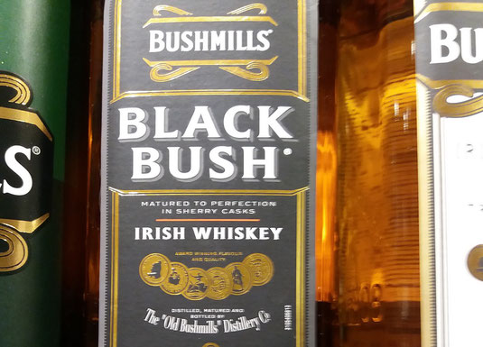 Blach Bush aus der Old Bushmills Distillery