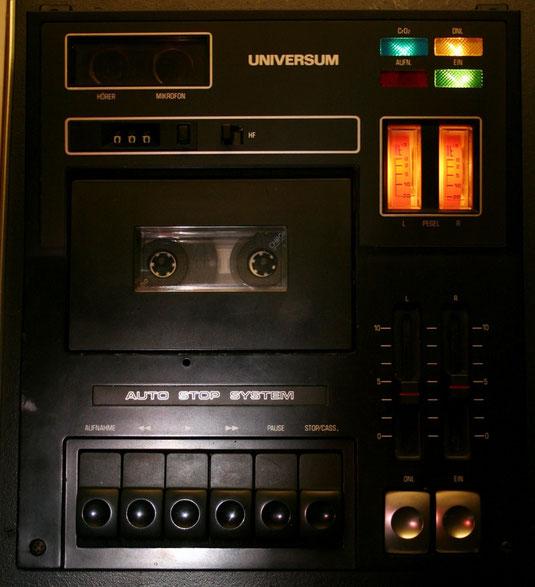 Stereo-Kassettendeck Universum CT 2358