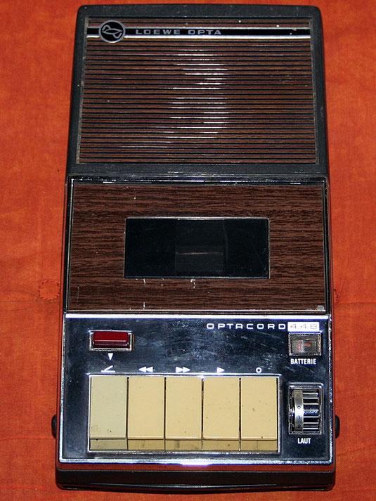 Kassettenrekorder Optacord 448