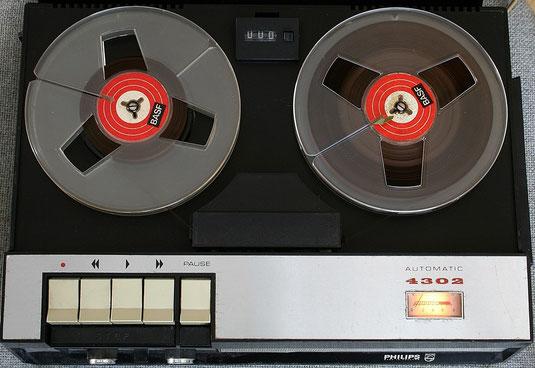 Tonband Philips N 4302 von 1970