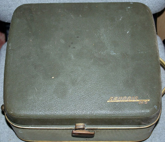 Grundig TK 5 Tonbandkoffer bzw. Tonbandgerät aus den 50ern