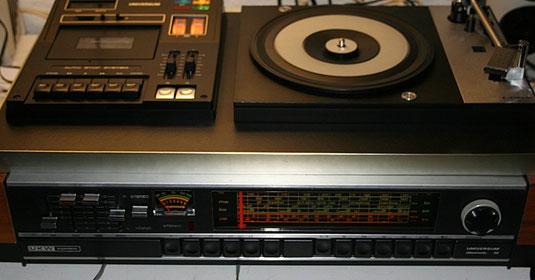 """Universum-Stereoanlage von 1976 """"Electronic 30"""""""
