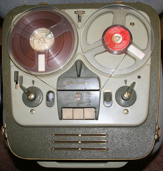 Tonbandgerät Grundig TK 8 3D