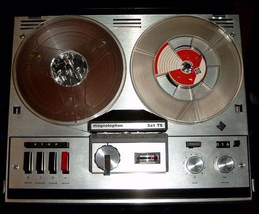 Tonbandgerät Telefunken Magnetphon 201 TS