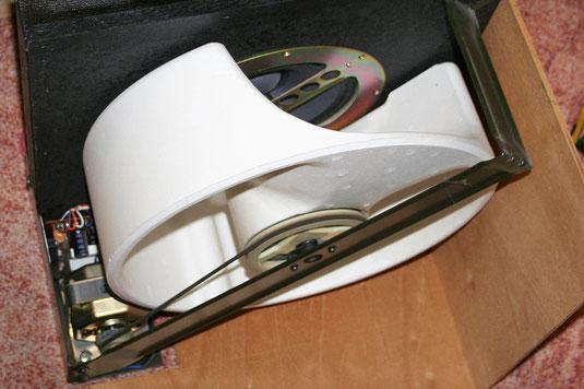 Tremololautsprecher (Leslie) aus der Yamaha D-85