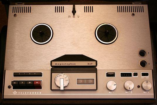 Magnetophon 207 von Telefunken