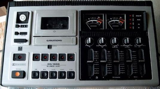 Kassettendeck CN 1000 von Grundig
