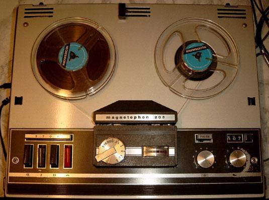 Telefunken Magnetphon 203 Stereo