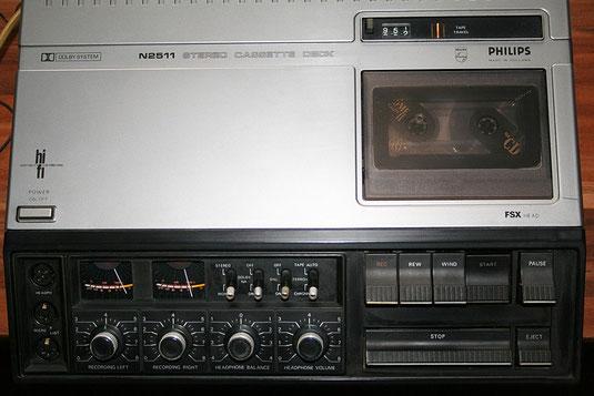 Stereo-Kassettendeck Philips N 2511