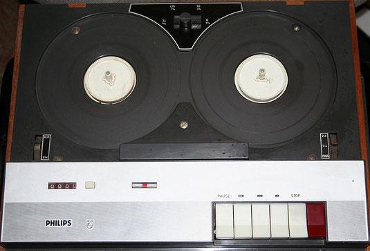 EL 3556 bzw. RK 65 Tonbandgerät von Philips
