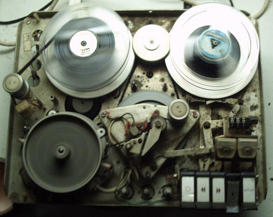 Spulen-Videogerät LDL 1002 von Philips aus dem Jahr 1969
