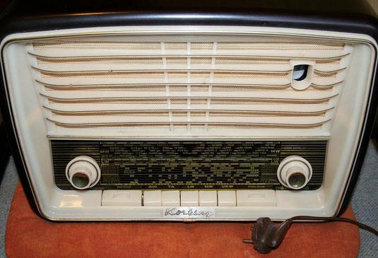 Röhrenradio Körting Piccolo aus den 50ern
