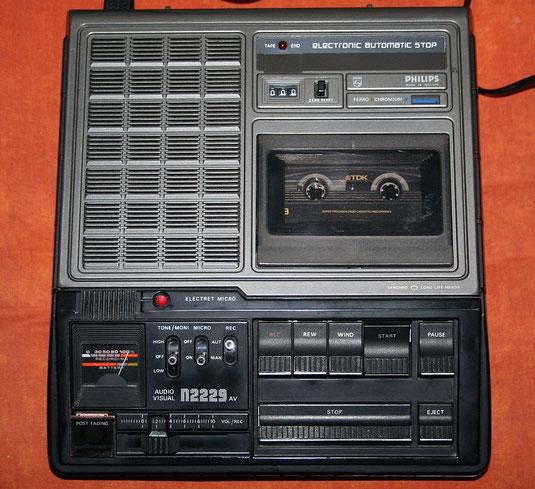 Kassettenrekorder Philips N2229