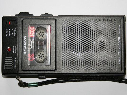 Diktiergerät Sanyo Talkbook TRC-3500