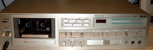 Kassettendeck Alpage AL80 von 1981