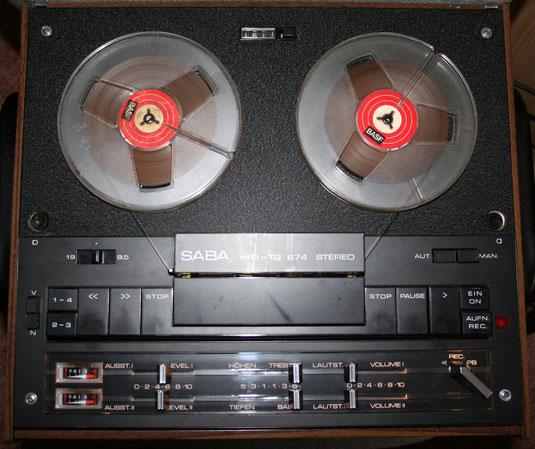 TG 674 Tonbandgerät von Saba