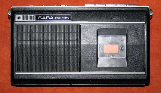 Kassettenrekorder Saba CR 315