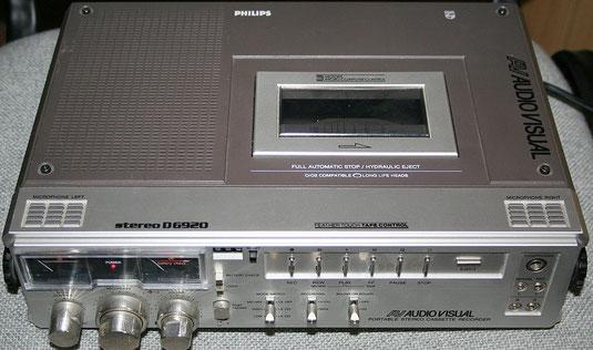 Kassettenrekorder D 6920 von Philips