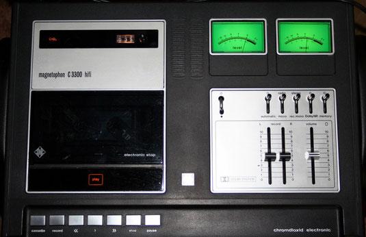 Kassettendeck Telefunken Magnetophon MC 3300