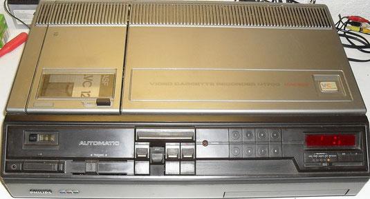 Viedeorekorder Philips N1700 für VCR_Videokassetten