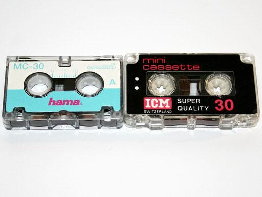 Minikassette, Microcassette