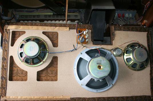 Lautsprecher in der Yamaha D-85