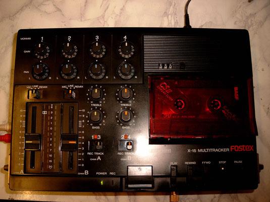 Fostex X-15 Vierspur-Kassettenrekorder